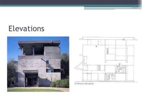 Raised House Plans shodhan house le corbusier architecture