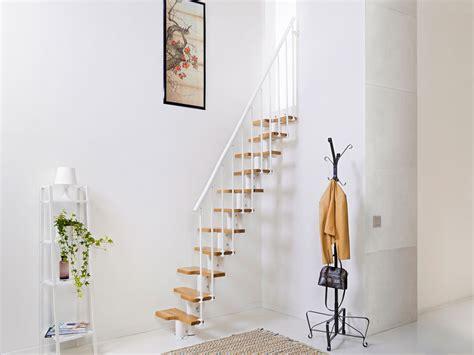 Escalier Escamotable 257 by Bausatztreppe Oak 30 Platzsparen Mit Stahl Und Massivholz