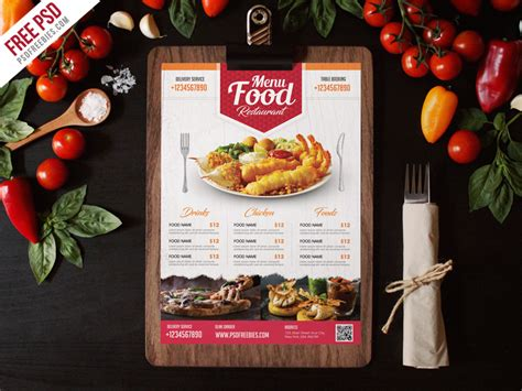 the family restaurant menu long template archive