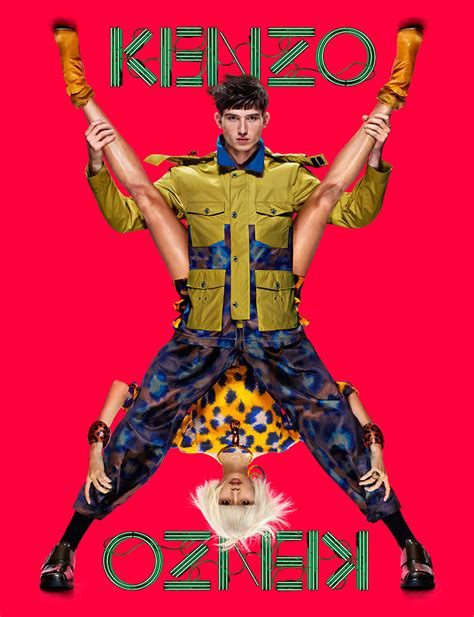 Artist Jean Paul Goude Fashion Photography Features Semi Models In Slide Show by The Style Examiner Kenzo Summer 2013 Caign