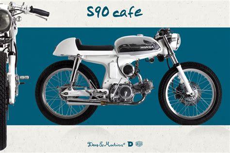 Suzuki S90 S90 Cafe Racer Deus Ex Machina Custom Motorcycles