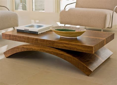solid wood coffee table design images  pictures