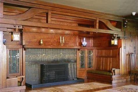 Craftsman Style Built In Bookcases The Craftsman Fireplace Mantel Shelf Crafted To