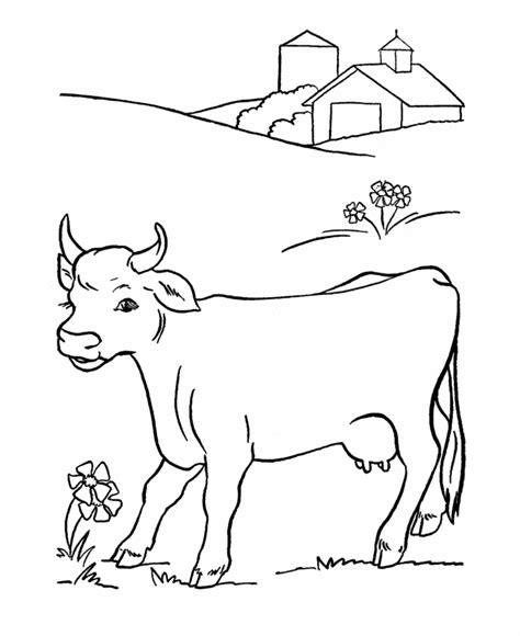coloring book pages cow free printable cow coloring pages for kids