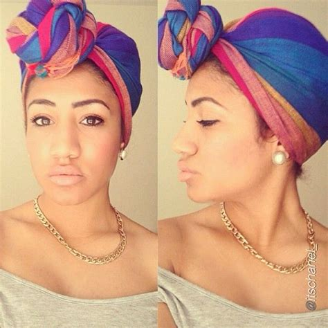 turban tutorial natural hair 12 best head scarves images on pinterest head scarfs