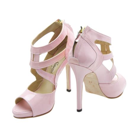 baby pink high heels sepatuwani taterbaru baby pink high heels images