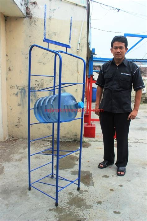 Rak Galon Aqua jual rak galon air tipe 2