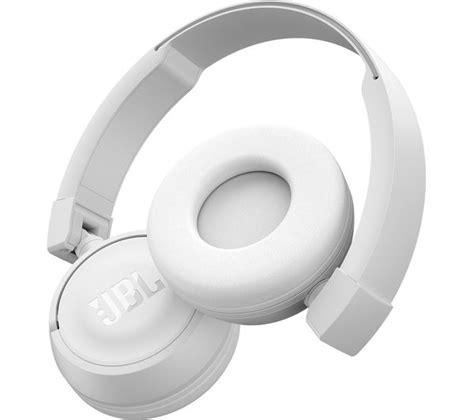 Headset Jbl T450 jbl t450 headphones white deals pc world