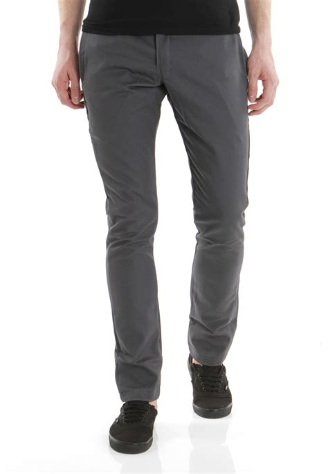 Celana Pria Skiny Grey dickies fit 801 charcoal grey impericon