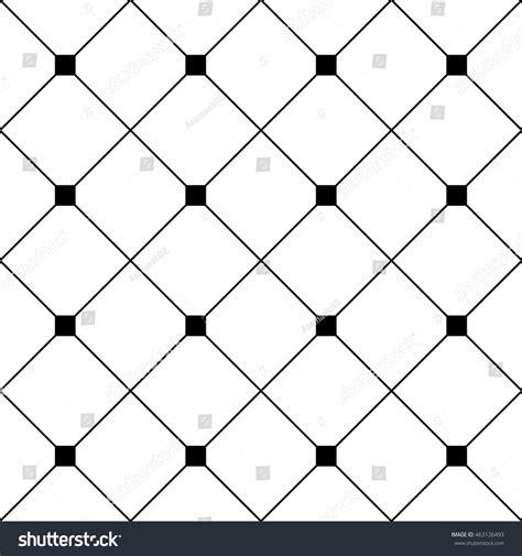 diamond texture pattern vector black square diamond grid white background stock vector