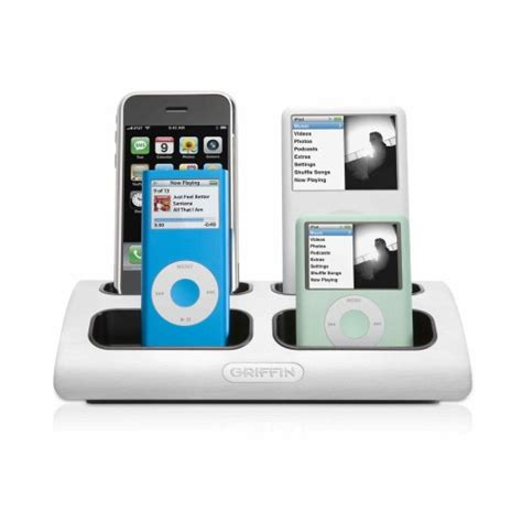 new electronic gadgets new electronic gadgets griffin powerdock 4 four position charging station for ipod and iphone