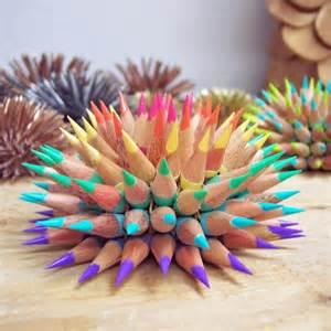 cool colored pencils pastel rainbow pencil urchin