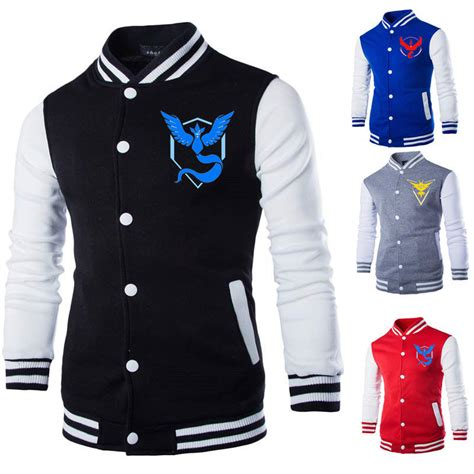 Hoodie Team Valor 1 Hitam Xxxv Cloth go baseball coat sweatshirt anime store