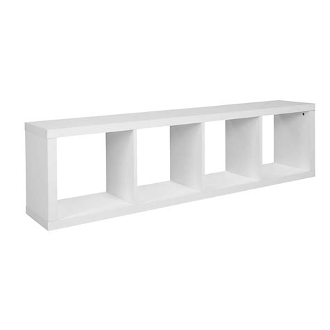 etagere alinea 201 tag 232 re 4 cases blanche kubico 201 tag 232 res rangements