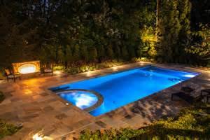 Rugs Nj Luxury Inground Swimming Pool Amp Glass Tile Spa Design