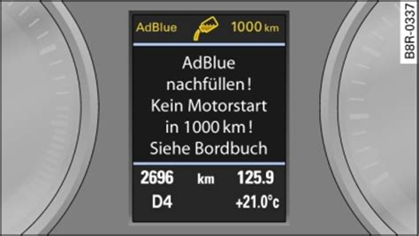 Adblue Audi Q5 by Spia Adblue Accesa Audi Q5 125kw