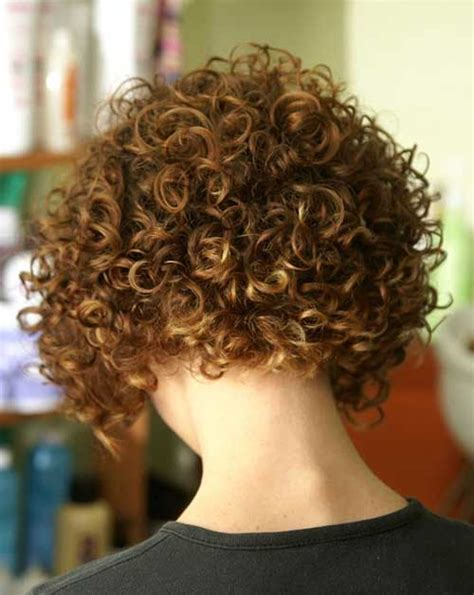 pictures of the back of curly stacked hair 40 best short curly hairstyles for women short