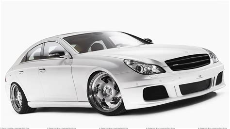 mercedes white side front pose of 2009 mercedes benz cls white label