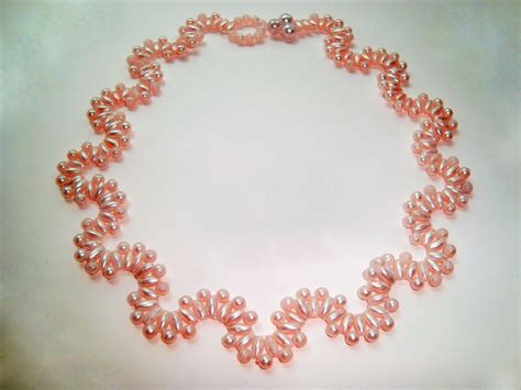 bead jewelry patterns free pattern for beautiful beaded necklace lilac wine with