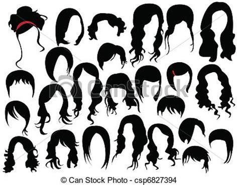 haircut graphic designs vetor eps de cabelo desenho csp6827394 pesquisar clip