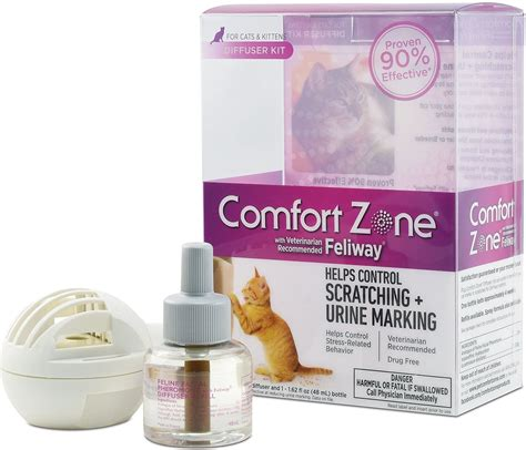 Dental Comfort Zone by Comfort Zone With Feliway Cat Diffuser 48 Ml Chewy