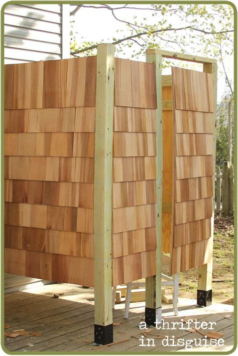 diy outdoor shower house part   ojays showers