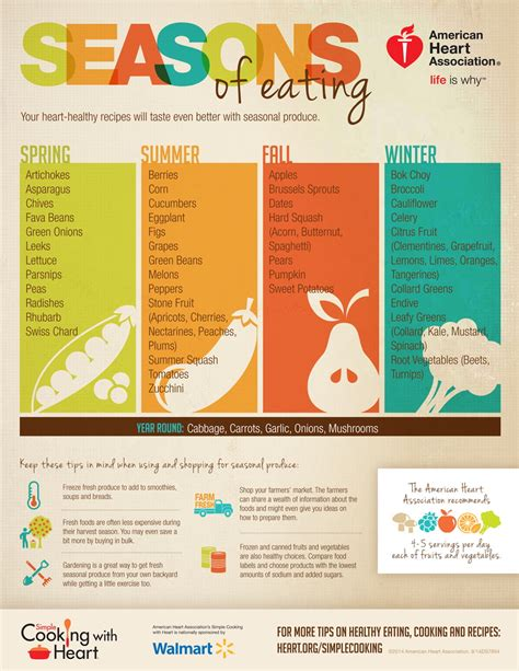 cooking infographics simple cooking with seasons of infographic