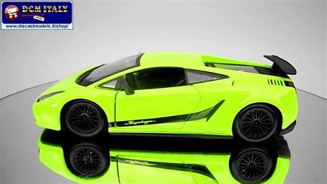 Lamborghini Bburago by Lamborghini Gallardo Superleggera Burago 1 24 Youtube