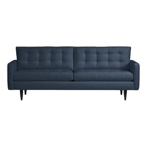 petrie couch crate and barrel 60 best images about navy living room on pinterest small