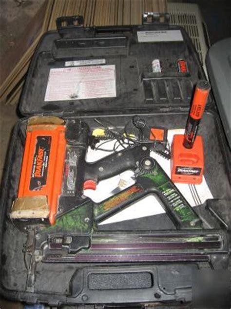 Ramset Hilti trakfast tf1100 nailer by ramset hilti dewalt tool