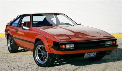 1983 Toyota Supra Terra Cotta 5 Speed 1983 Toyota Supra P Type Bring A