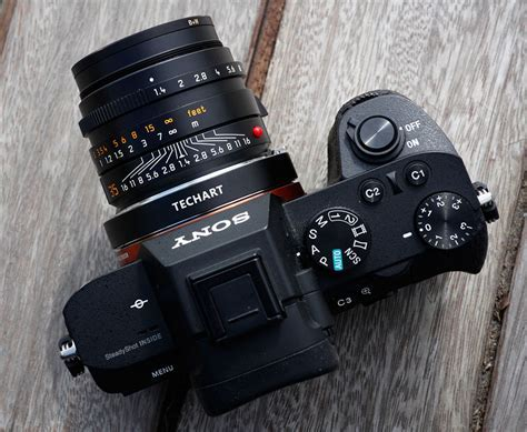 Techart PRO AF Leica M lens adapter for Sony E mount