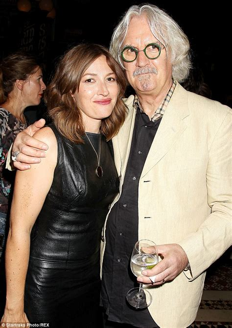 Billy Connolly supports compatriot Kelly Macdonald at Boardwalk Empire launch party   Daily Mail