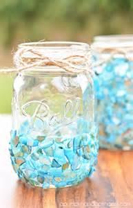 beach inspired mason jar craft a pumpkin and a princess