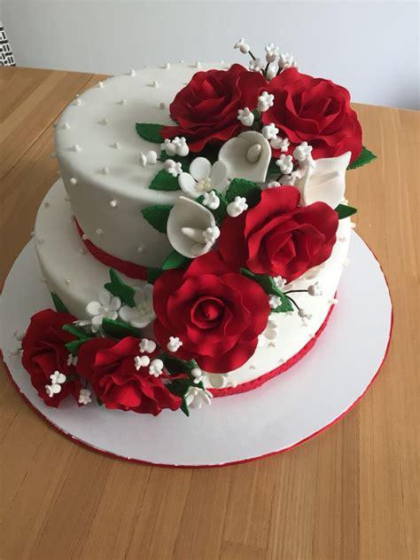hochzeitstag torte 1000 ideas about 25th anniversary cakes on pinterest 25