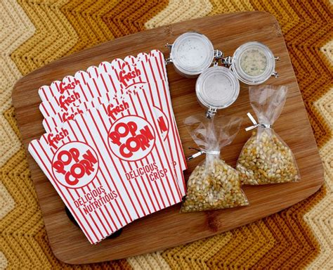 homemade gift ideas flavored popcorn treading lightly