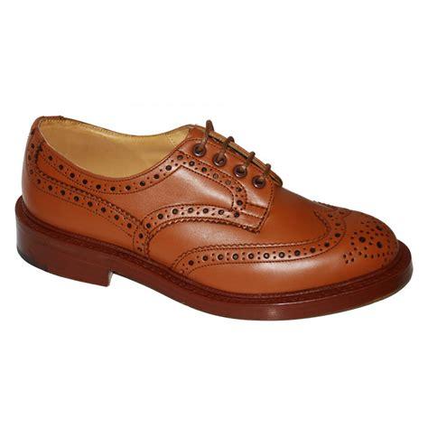 trickers mens keswick 6 fitting brogue shoes