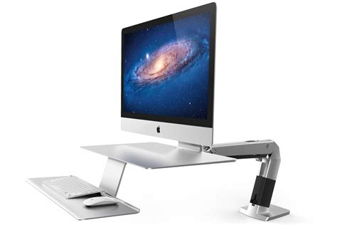 ergotron dual monitor desk mount ergotron workfit a review have a seat or stand at