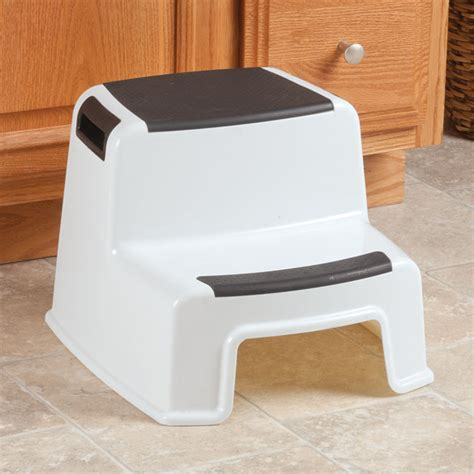 2 Tier Step Stool by Two Tier Stepping Stool Two Step Stool Walter