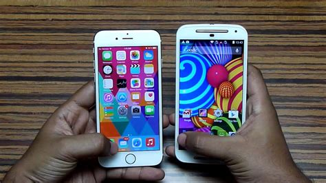 g iphone 6 moto g 2nd vs iphone 6 speed test