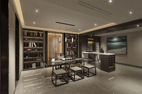 Asian Home Interior Design by Modern Asian Luxury Interior Design