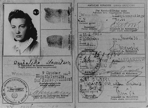 printable holocaust id cards photograph