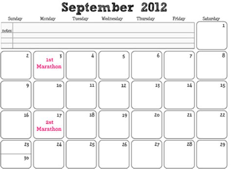 26 Marathon Fundraising Tips 187 Crowdfunding Experts Calendar Fundraiser Template
