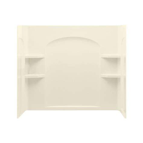bathtub wall set sterling ensemble 33 1 4 in x 60 in x 55 1 4 in 3 piece