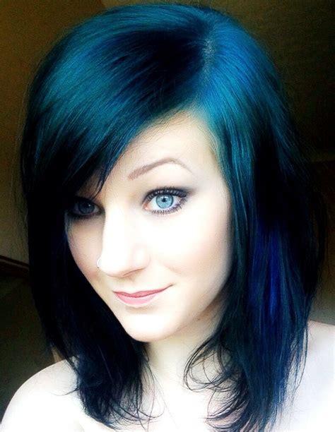 midnight blue black hair color midnight blue hair color on black hair www imgkid com