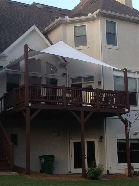 Deck Shade 25 Best Ideas About Awnings And Shade Sails On