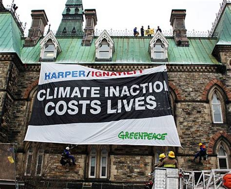 Greenpeace 10 T Shirt parliament hill protest leads to ban on greenpeace t