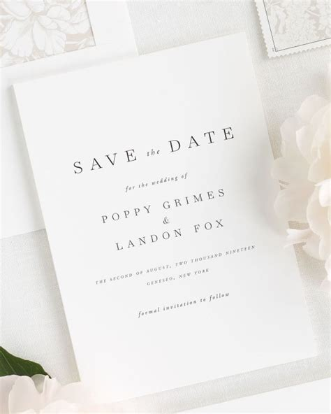 Save The Date Wedding by Amelia Save The Date Cards Save The Date Cards By Shine
