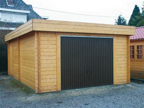 Garage Bois Toit Plat Leroy Merlin 2564 by Garage Toit Plat Avec Abris Vehicule