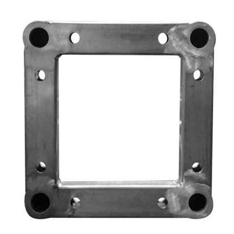 traliccio in alluminio traliccio quadrato in alluminio lato 30 x 30 cm 2 metri